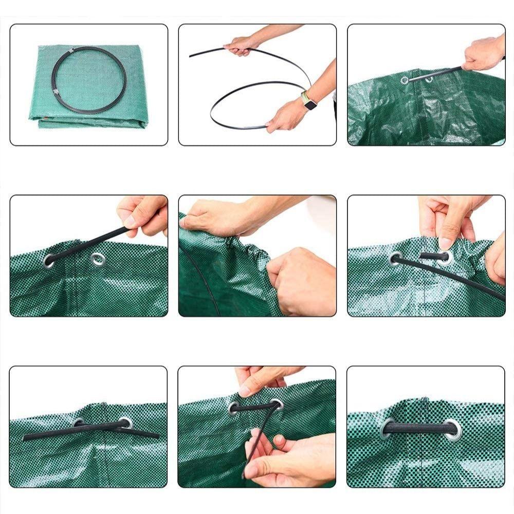 freestanding garden waste reusable bag